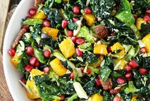 fall salads and veggie recipes
