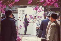 Color Wedding - Pink & Peach / Wedding with Pink & Peach  핑크 & 피치 컬러 웨딩 스타일링 아이디어