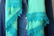 Lange sjaals katherina Loretta