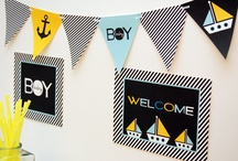 Baby Shower Ideas / by Tricia Swain