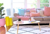 Interior inspiration / Inspiration for your home. Styling,colour,decor,Scandi