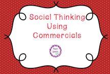 Social Thinking/SKills / by Laura Weinbrenner