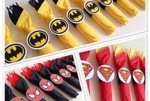 fiesta héroes DC