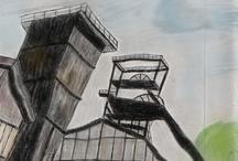 Industriell Arts Saar / Alte industrielle Bauwerke und Impressionen der Saar-Lor-Lux Region
