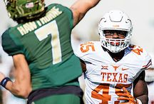 Texas Football at Baylor [Dec. 5, 2015] / Heading into the contest on Saturday, Dec. 5, 2015, the No. 12 Baylor Bears had scored on their first drive of every game this season. The Texas Longhorns stuffed the Bears' first drive and all of their other drives in the first half to grab a 23-17 road victory at McLane Stadium in Waco.