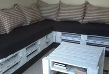 Furniture / Furniture ideas and plans from wood pallets, recycled and upcycled materials.