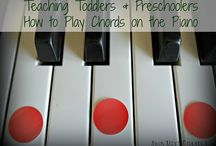 The Sound of Music / Saving tips for teaching my toddler son how to play piano when he's older!