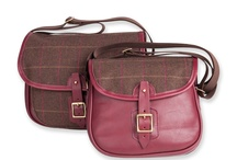 Leather, Tweed & Canvas Satchels / Examples of archive bags from Dunmore Scotland. All now sold out.