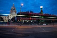Austin, Texas Capitol Christmas Tree