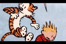 Calvin and Hobbes Love / by Misty Sommers