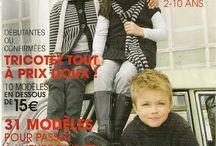 Tricot enfant catalogue