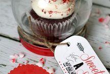 diy cupcake gift jar