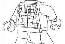 Ausmalbilder Avengers Lego
