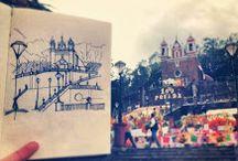 Urban Sketchers / by Gloria Ulloa