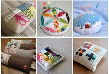 Fabric crafts - pincushions / Cute pincushion inspiration