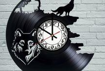 Vinyl watch