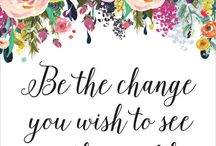 Change the World Inspiration
