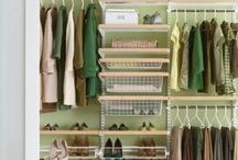 Closet Organization / by Kassia