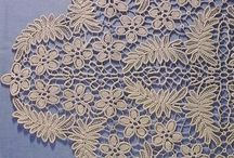 Romanian point lace crochet