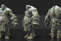 3D models + VFX