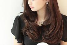 髪型 セミロング~ロング