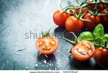 Tomato Knife Photography