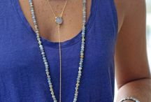 layerd necklaces