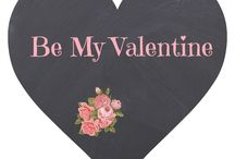 Be My Valentine / Valentines Day inspiration, hearts, printables, DIY Valentines ideas, recipes and drinks for Valentine