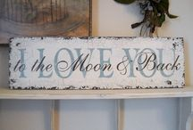 wood signs / by Dawn Wolford