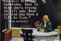 Recovery is rollercoaster ride / recovery, anorexia, self harm, depression