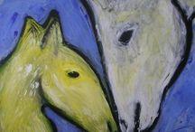 My art work: paintings / Overzicht van mijn schilderijen.