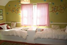 Twin Girls Room