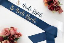 Nauti Bride Bachelorette / Must have items to plan the perfect Nauti Bride themed bachelorette party