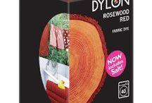 DYLON Gülağacı Kırmızısı-Rosewood Red-Fabric Dye With Salt