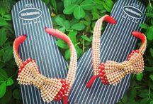 Artesdaneth chinelos decorados
