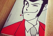 Lupin Pop Art