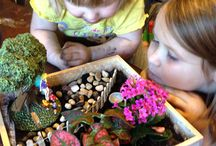 Fairy Gardening / Fun Fairy Gardening activities for Big and Littles to try out!