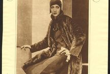 1920s Wmn - Day c1929 / Household and afternoon fashions from approximately 1929