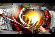 video peinture