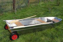 Barque de pêche / Barque de pêche Barque en aluminium
