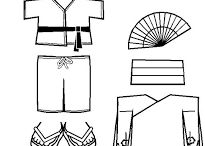 vestimenta de asia