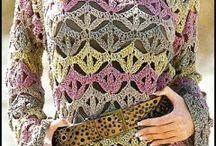 bordados e croche