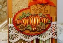 Card Ideas - Fall / by Bobbie Sumpter