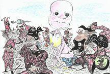 Marian Lupu LUPINO-graphics karika / Graphics cartoons