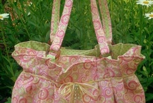 Quilty Sewing - BAGS etc / bags, baskets, bowls, boxes, carriers, cases, pocket holders, totes, wallets and wine bottle carriers