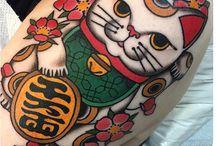Gatto tattoo