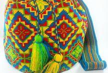 textile F crochet sacs mochillas bags / crocheter des sacs