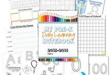 School Stuff - Covington's pre-k 3 curriculum