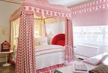 Girl's Bedroom Ideas / A collection of beautiful bedrooms for girls