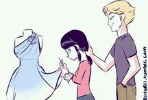 Marinette x Adrien